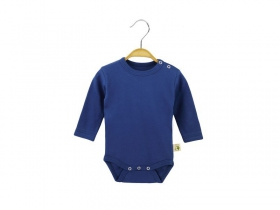 Body of blue color with long sleeves