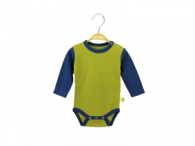 Body of olive-blue collor with long sleeves