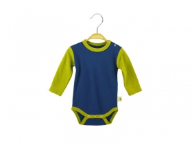 Body of blue- oliv colors with long sleeves